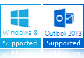 windows 8 outlook 2013