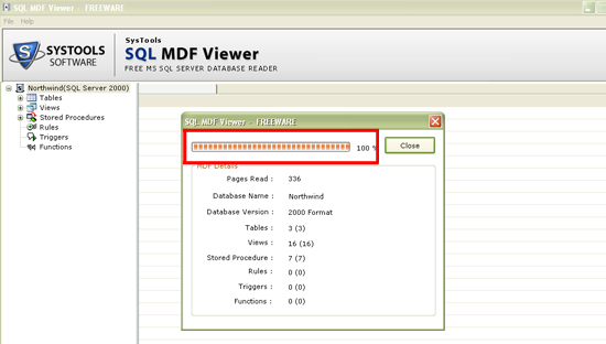SQL MDF Database Viewer